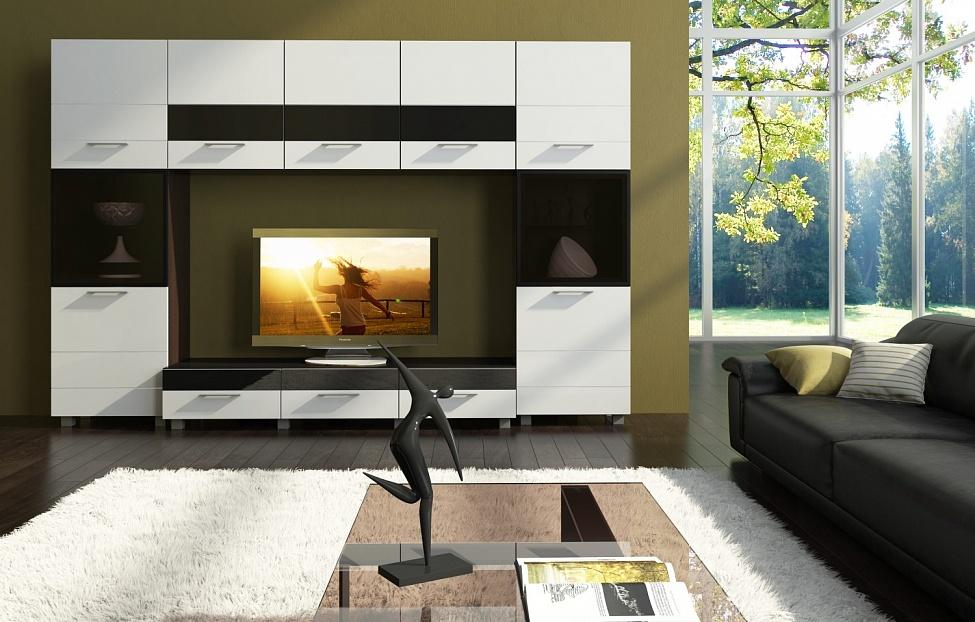 Купить Гостиная Матисс 3 в интернет магазине корпусной и мягкой мебели для дома