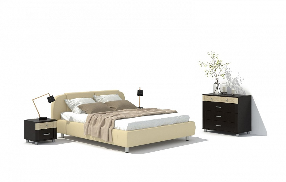 Купить Спальня Эстетика 7.1 в интернет магазине корпусной и мягкой мебели для дома