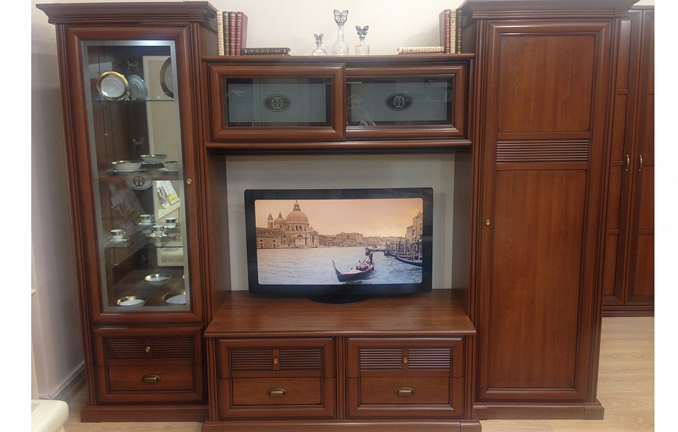 Купить Гостиная Изотта в интернет магазине корпусной и мягкой мебели для дома