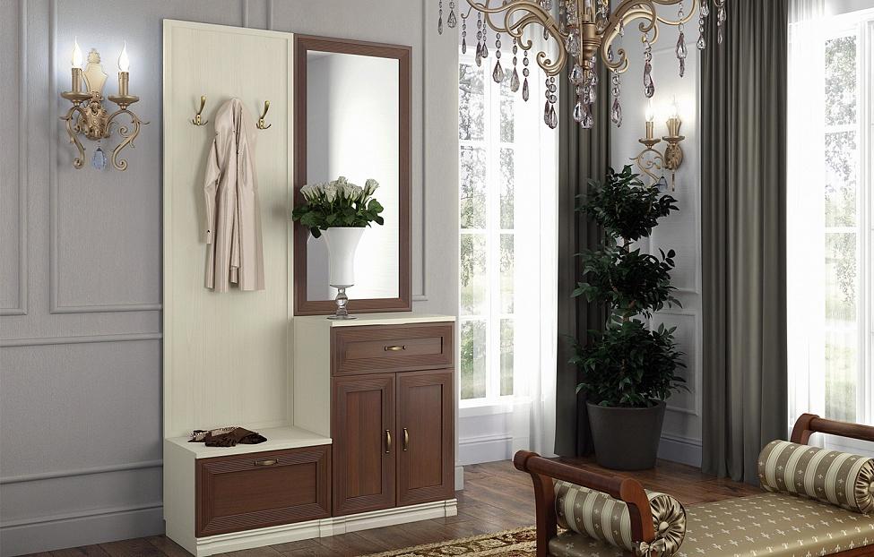 Купить Прихожая Адажио 12 в интернет магазине корпусной и мягкой мебели для дома