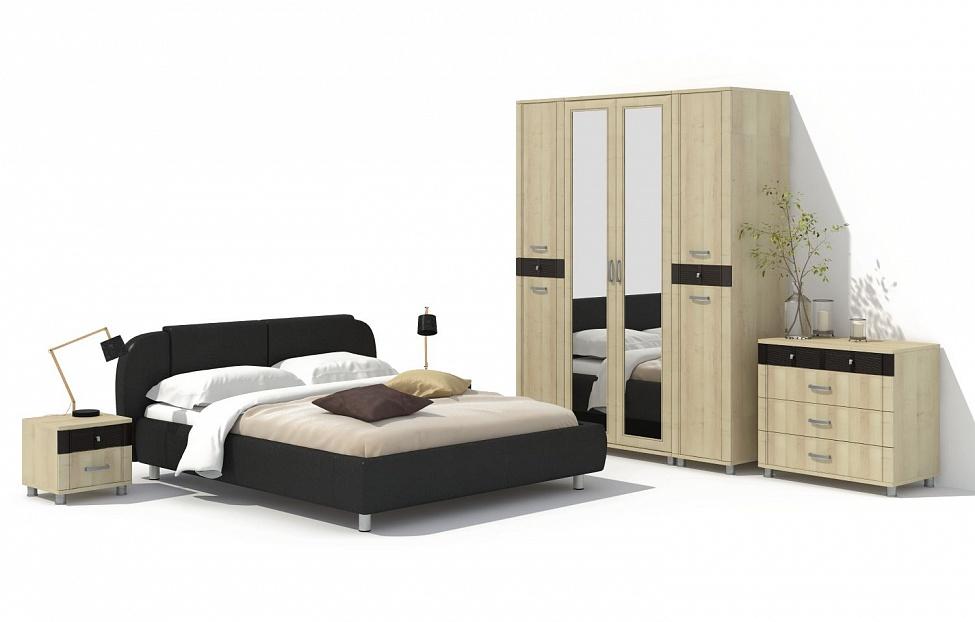 Купить Спальня Эстетика 12.2 в интернет магазине корпусной и мягкой мебели для дома
