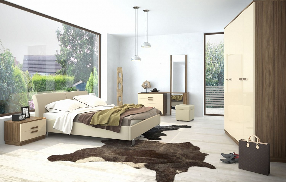 Купить Спальня Лайна 1 в интернет магазине корпусной и мягкой мебели для дома