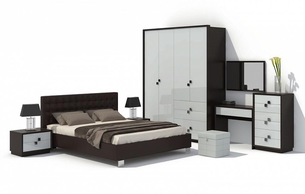 Купить Спальня Брио 12 в интернет магазине корпусной и мягкой мебели для дома