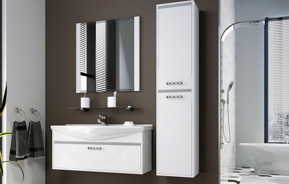 Купить Мебель для ванной комнаты Санрайс 3 в интернет магазине корпусной и мягкой мебели для дома