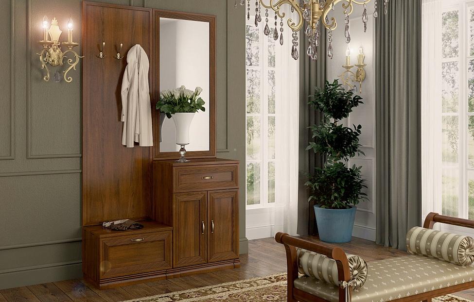Купить Прихожая Адажио 3 в интернет магазине корпусной и мягкой мебели для дома