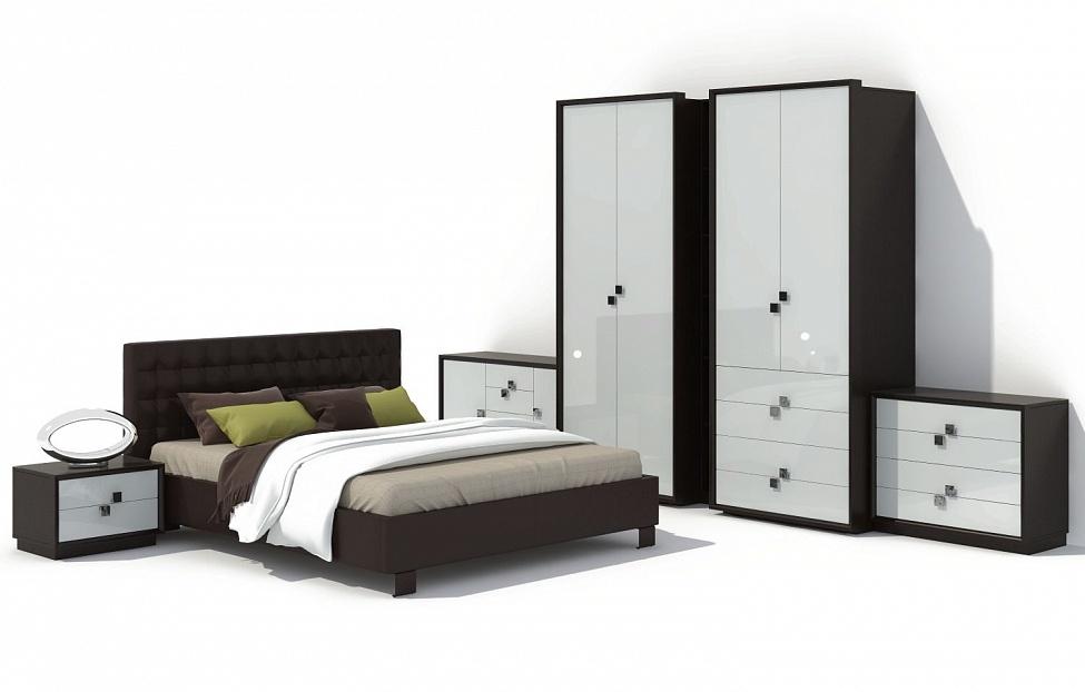 Купить Спальня Брио 18 в интернет магазине корпусной и мягкой мебели для дома