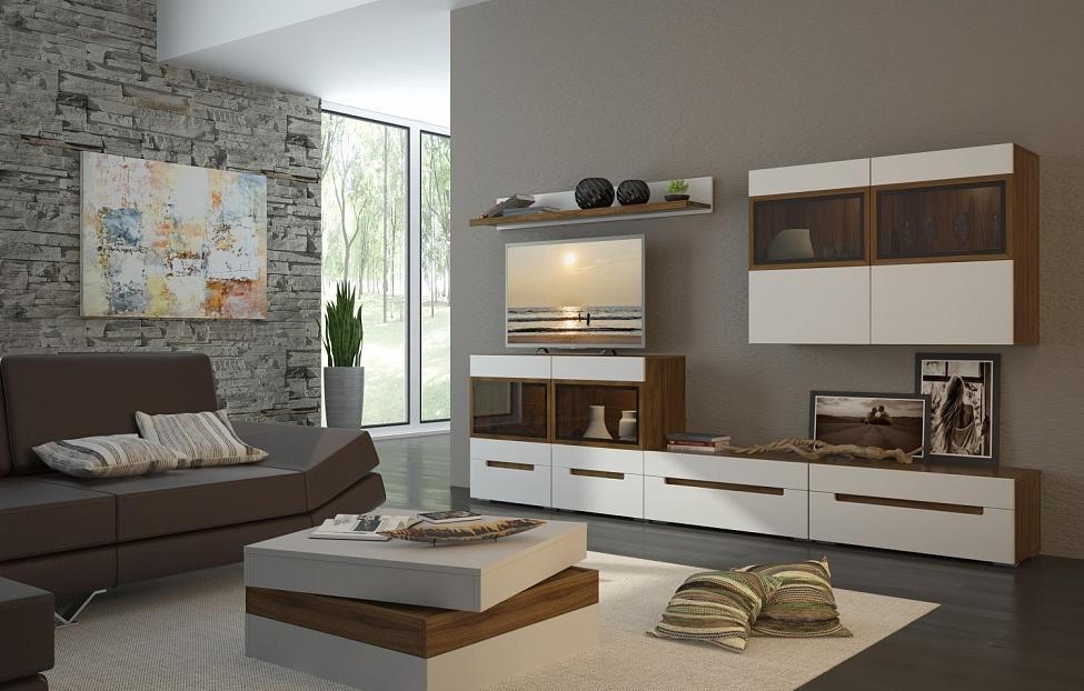 Купить Гостиная Анри 5.1 в интернет магазине корпусной и мягкой мебели для дома