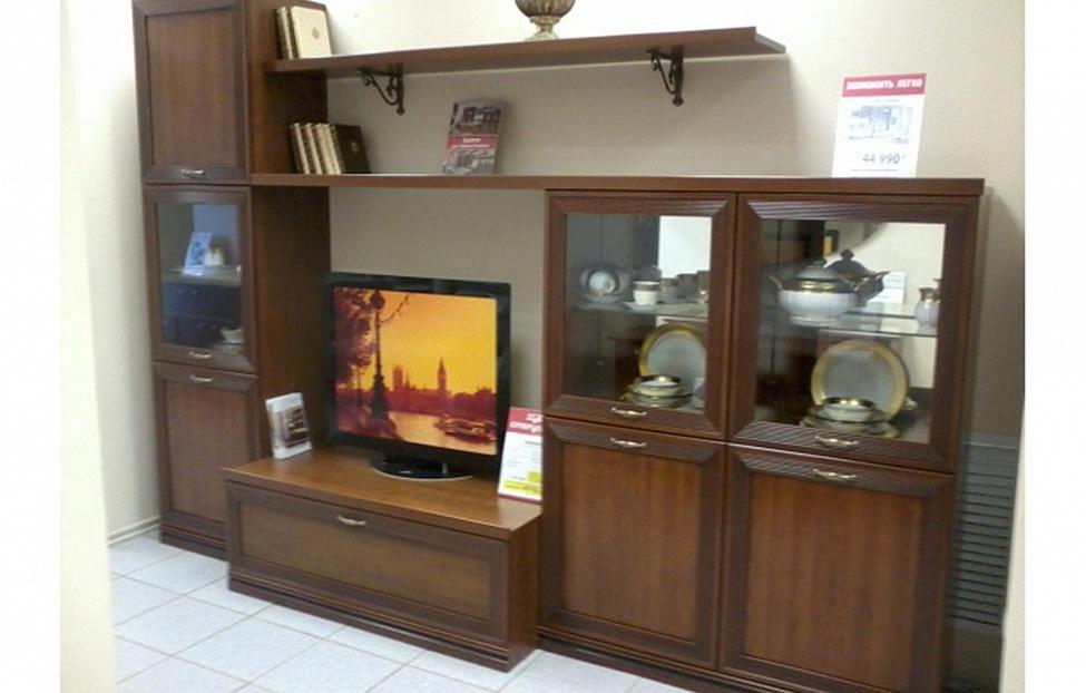 Купить Гостиная Адажио в интернет магазине корпусной и мягкой мебели для дома