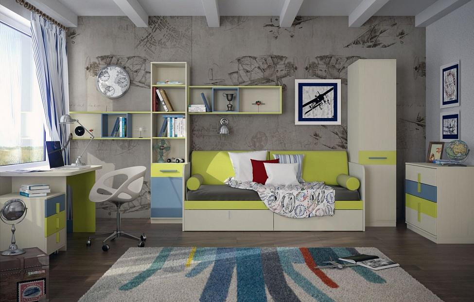 Купить Подростковая Кеноша 2 в интернет магазине корпусной и мягкой мебели для дома