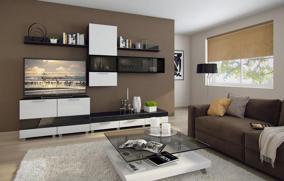 Купить Гостиная Матисс 2 в интернет магазине корпусной и мягкой мебели для дома