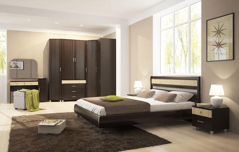 Купить Спальня Эстетика 1.2 в интернет магазине корпусной и мягкой мебели для дома