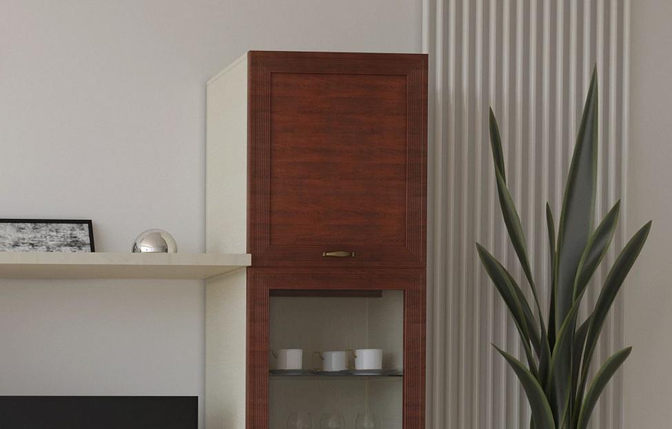 Купить Гостиная Адажио 2.5 в интернет магазине корпусной и мягкой мебели для дома