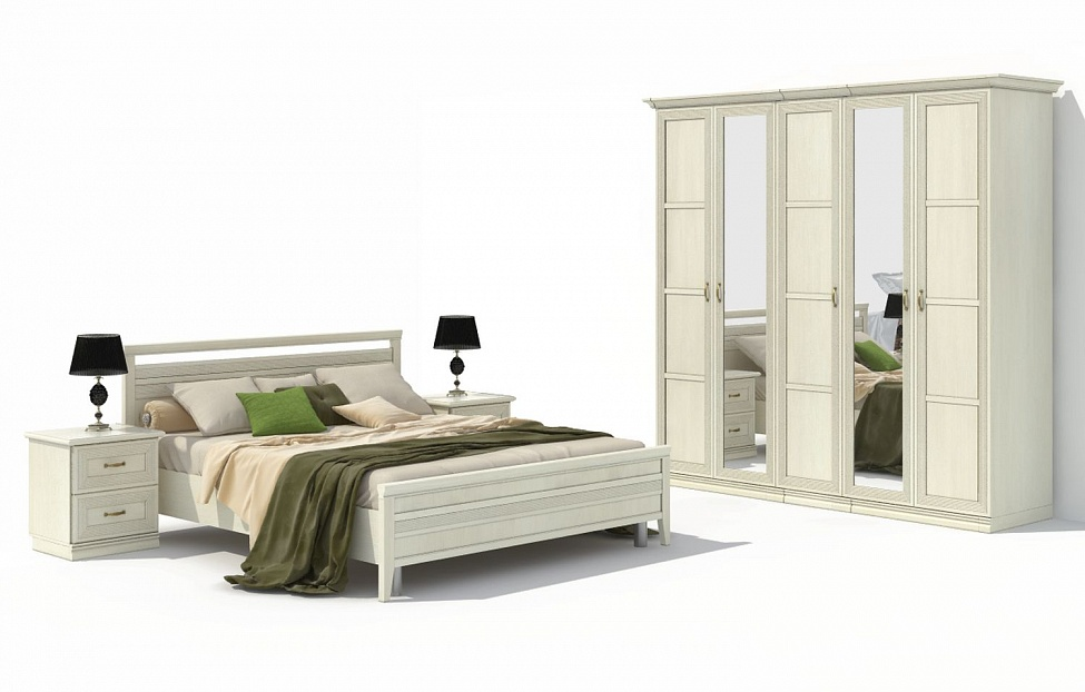 Купить Спальня Адажио 11.1 в интернет магазине корпусной и мягкой мебели для дома