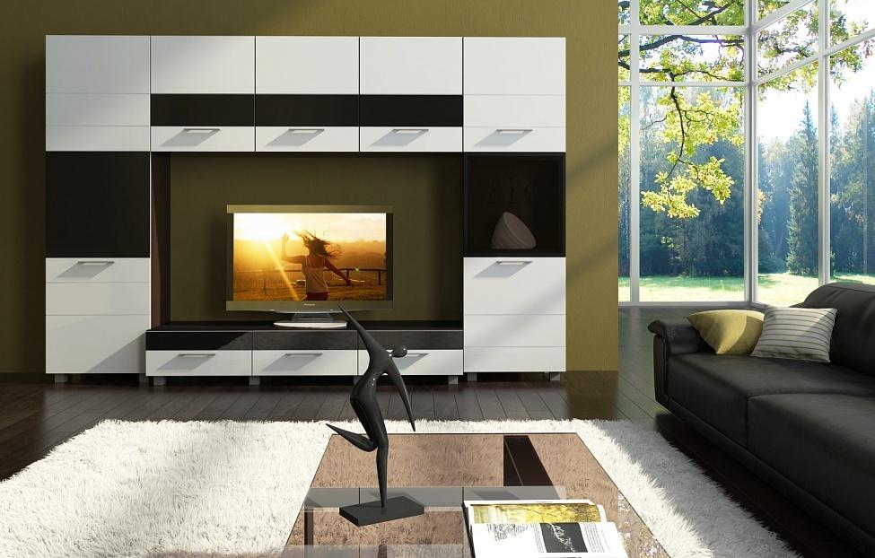 Купить Гостиная Матисс 6 в интернет магазине корпусной и мягкой мебели для дома