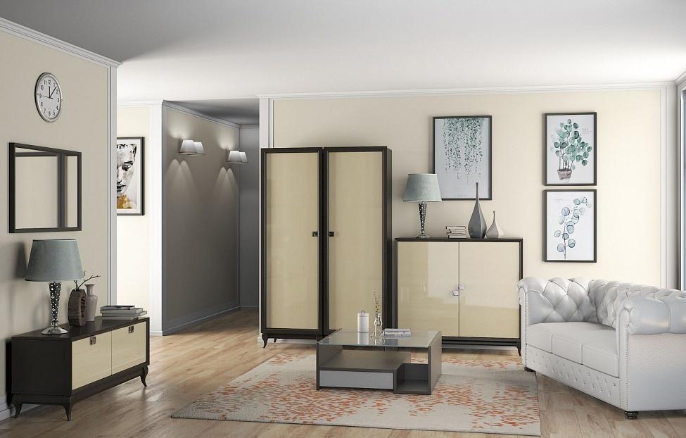 Купить Гостиная Брио 4 в интернет магазине корпусной и мягкой мебели для дома