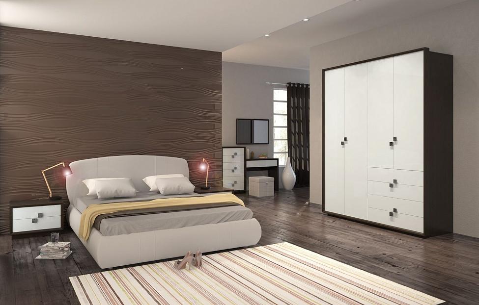 Купить Спальня Брио 6 в интернет магазине корпусной и мягкой мебели для дома