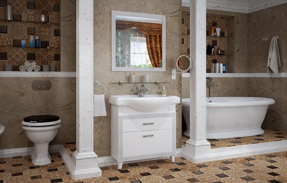 Купить Мебель для ванной комнаты Классик 2 в интернет магазине корпусной и мягкой мебели для дома