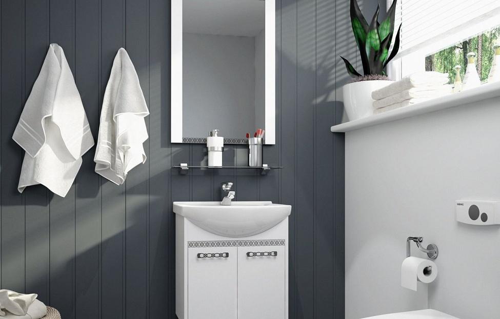 Купить Мебель для ванной комнаты Санрайс 1 в интернет магазине корпусной и мягкой мебели для дома