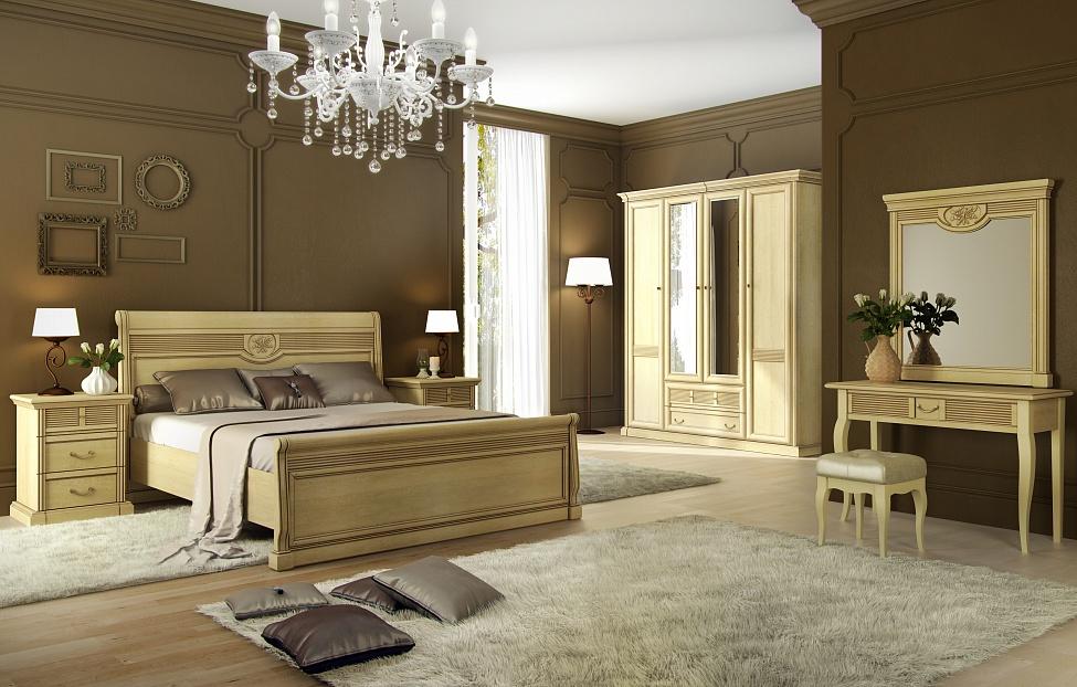 Купить Спальня Изотта 7.2 в интернет магазине корпусной и мягкой мебели для дома
