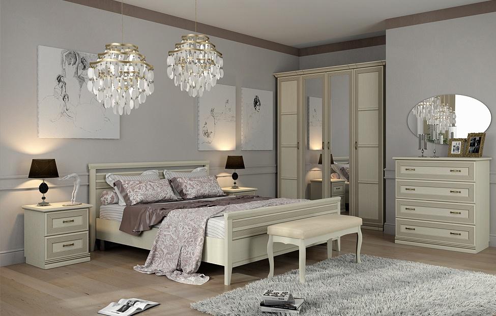 Купить Спальня Адажио 3.2 в интернет магазине корпусной и мягкой мебели для дома