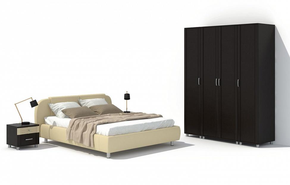 Купить Спальня Эстетика 9.1 в интернет магазине корпусной и мягкой мебели для дома