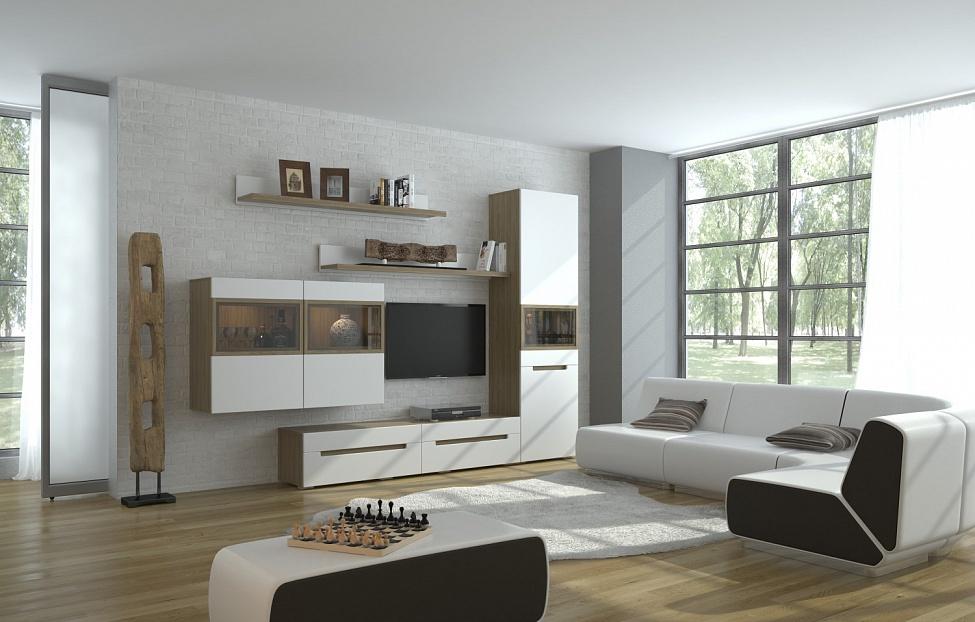Купить Комплект Анри 1 (белый) в интернет магазине корпусной и мягкой мебели для дома