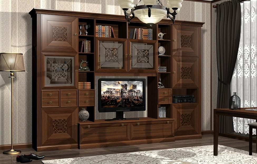 Купить Гостиная Бенуа 1 в интернет магазине корпусной и мягкой мебели для дома