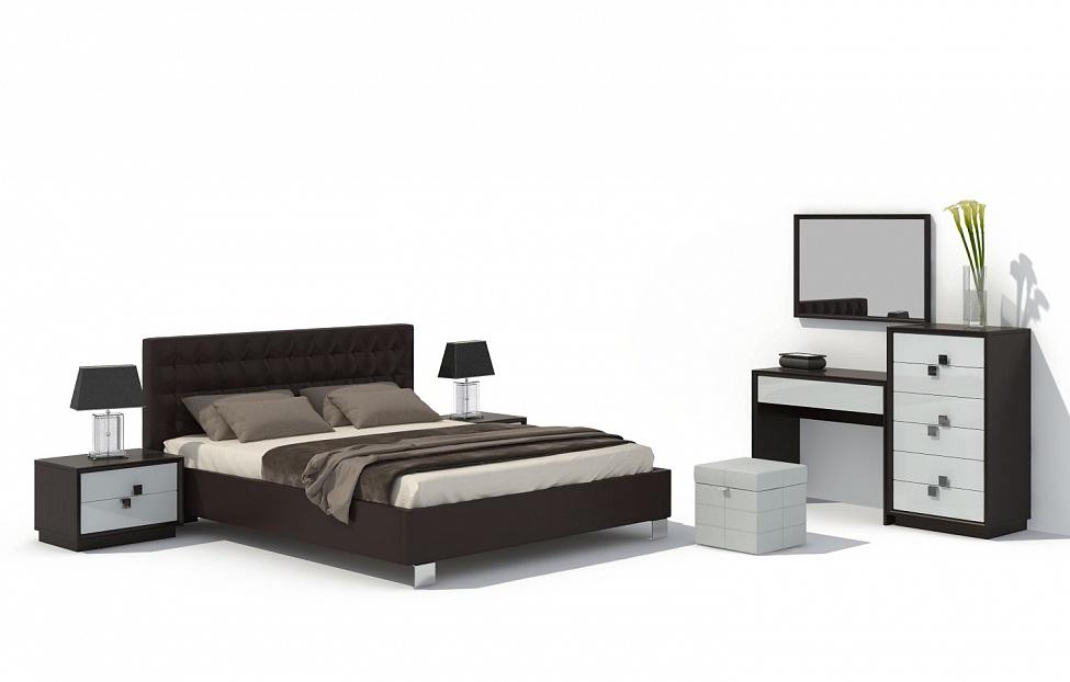 Купить Спальня Брио 11 в интернет магазине корпусной и мягкой мебели для дома
