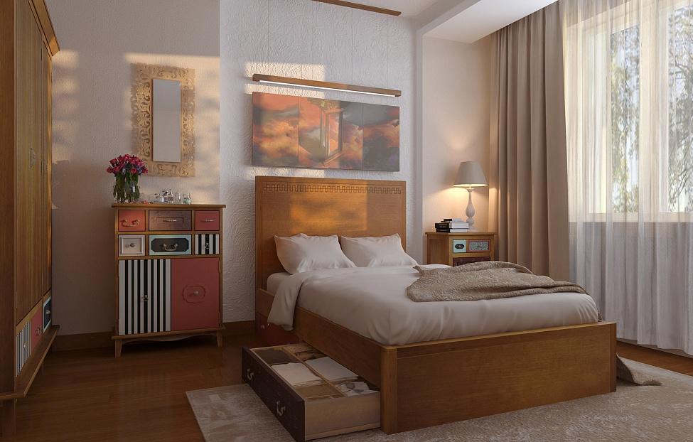 Купить Спальня Gouache 2 в интернет магазине корпусной и мягкой мебели для дома