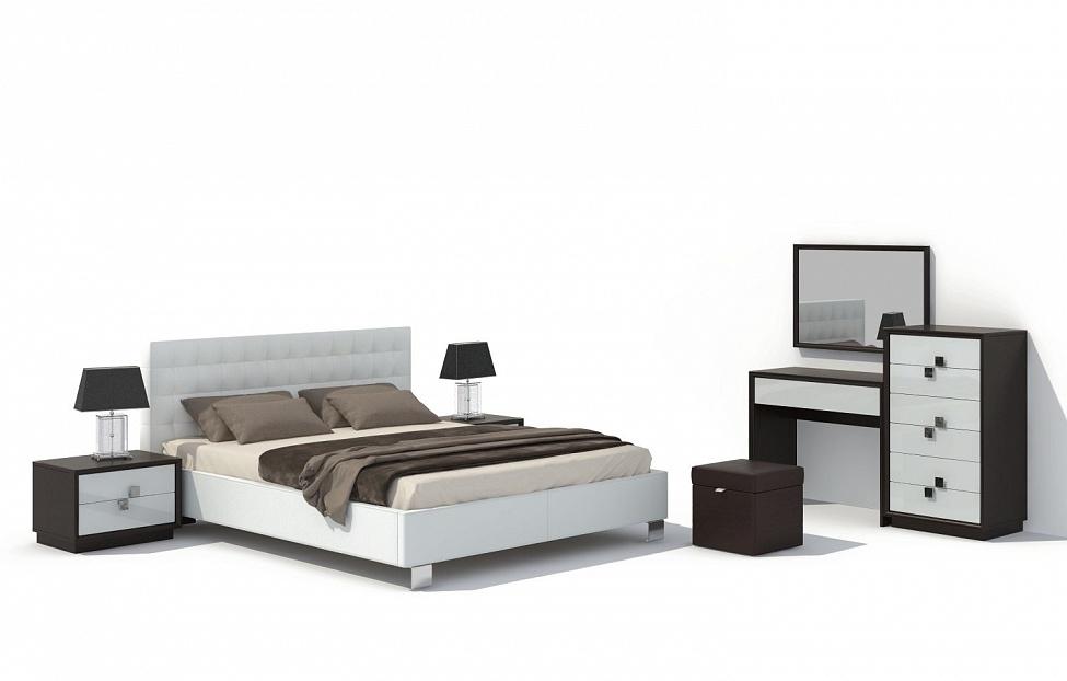 Купить Спальня Брио 14 в интернет магазине корпусной и мягкой мебели для дома
