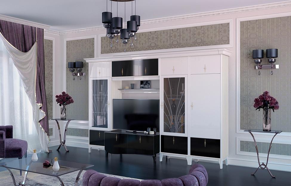 Купить Гостиная Dec'-O 1 в интернет магазине корпусной и мягкой мебели для дома