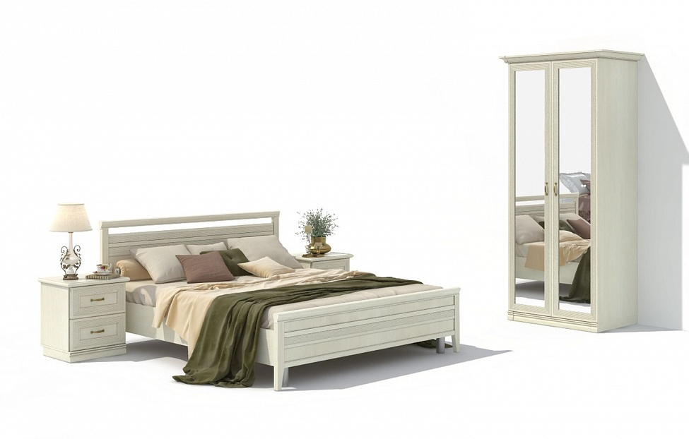 Купить Спальня Адажио 15.1 в интернет магазине корпусной и мягкой мебели для дома