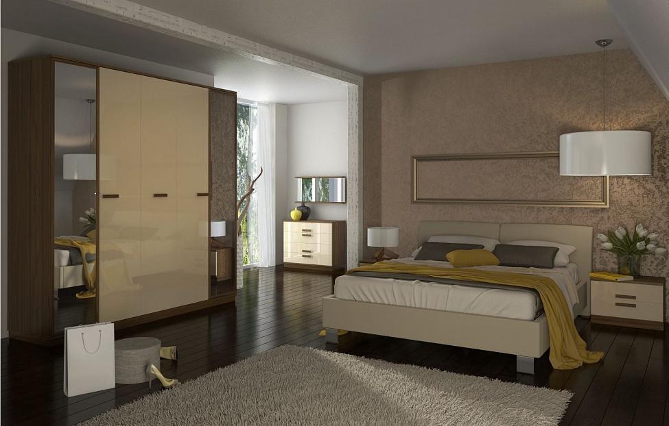 Купить Спальня Лайна 3 в интернет магазине корпусной и мягкой мебели для дома