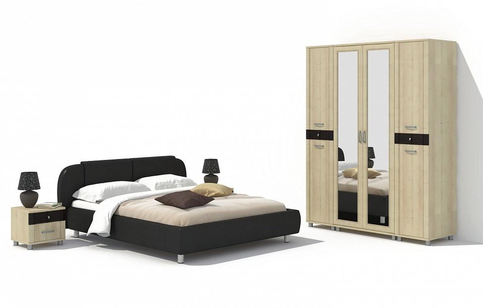 Купить Спальня Эстетика 13.2 в интернет магазине корпусной и мягкой мебели для дома