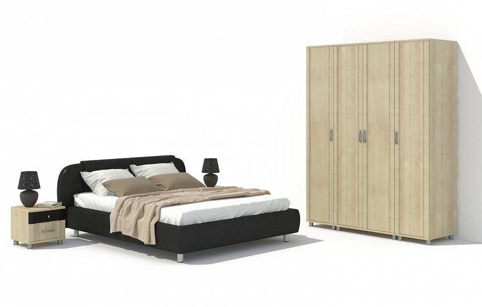 Купить Спальня Эстетика 9.2 в интернет магазине корпусной и мягкой мебели для дома