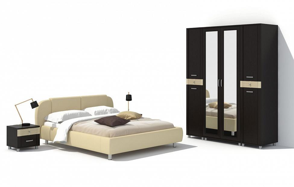 Купить Спальня Эстетика 13.1 в интернет магазине корпусной и мягкой мебели для дома