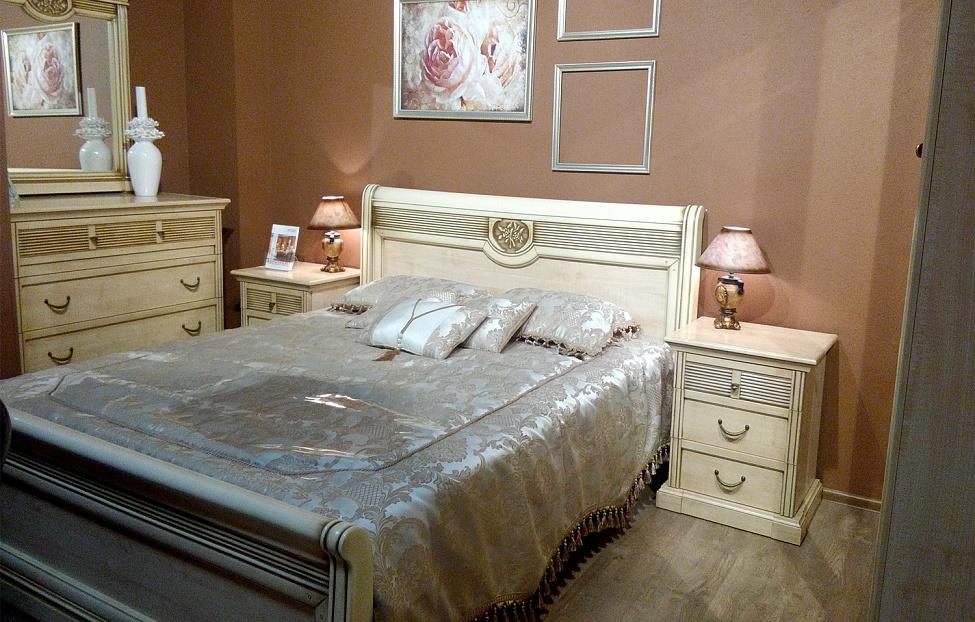 Купить Спальня Изотта в интернет магазине корпусной и мягкой мебели для дома
