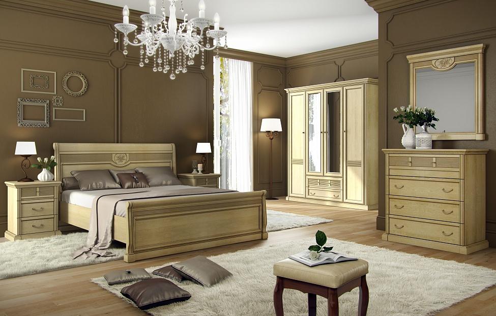 Купить Спальня Изотта 1.1 в интернет магазине корпусной и мягкой мебели для дома