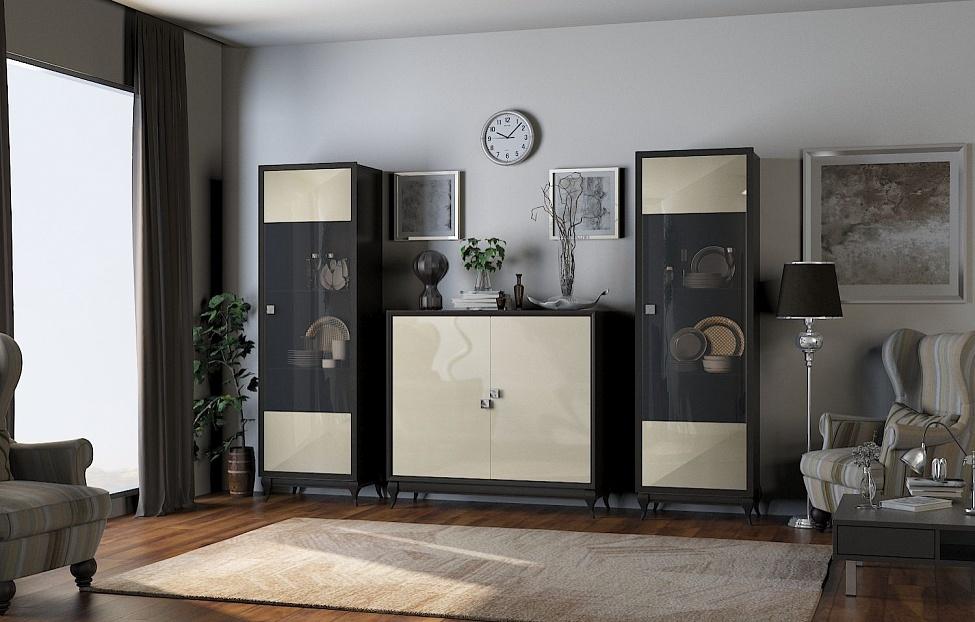 Купить Гостиная Брио 3 в интернет магазине корпусной и мягкой мебели для дома