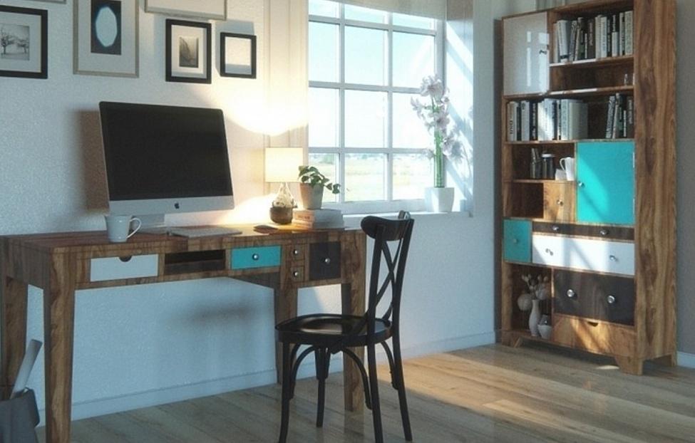 Купить Библиотека Aquarelle в интернет магазине корпусной и мягкой мебели для дома
