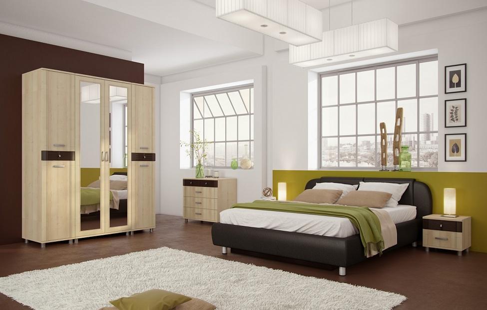 Купить Спальня Эстетика 4.2 в интернет магазине корпусной и мягкой мебели для дома
