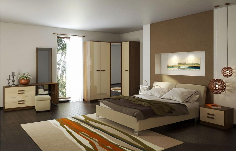 Купить Спальня Лайна 5 в интернет магазине корпусной и мягкой мебели для дома