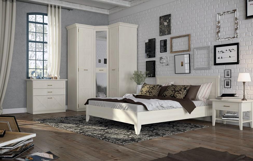 Купить Спальня Кантри 2 в интернет магазине корпусной и мягкой мебели для дома