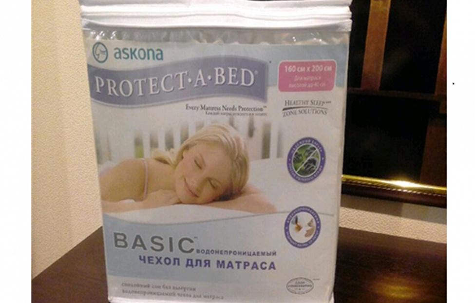Купить Чехол на матрас &quot-Proctect-a-bed Basik&quot- в интернет магазине корпусной и мягкой мебели для дома