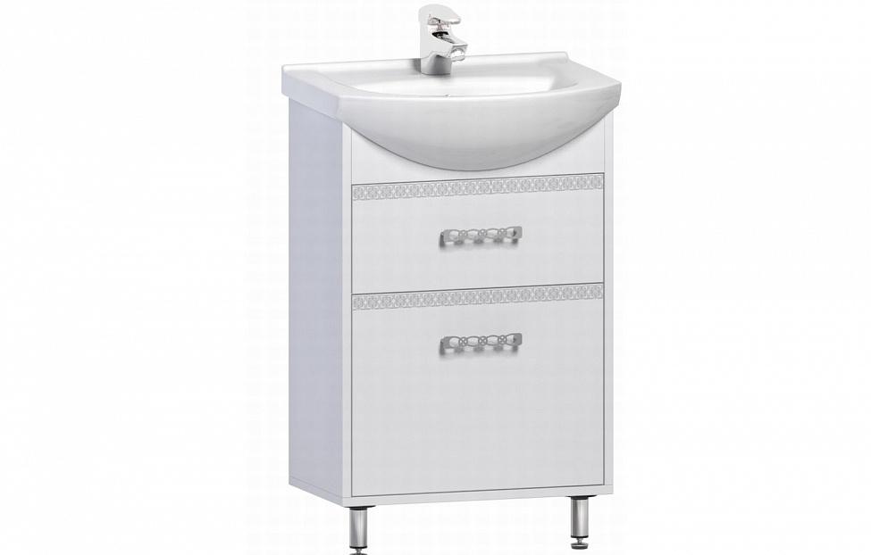 Купить Тумба с раковиной Sun 550.01-02 в интернет магазине корпусной и мягкой мебели для дома