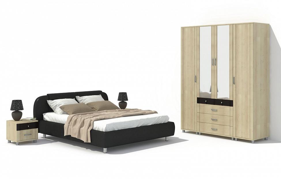 Купить Спальня Эстетика 11.2 в интернет магазине корпусной и мягкой мебели для дома