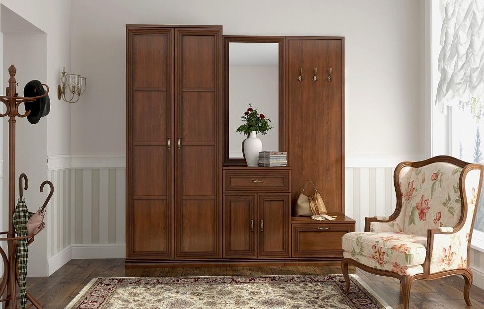 Купить Прихожая Адажио 1 в интернет магазине корпусной и мягкой мебели для дома