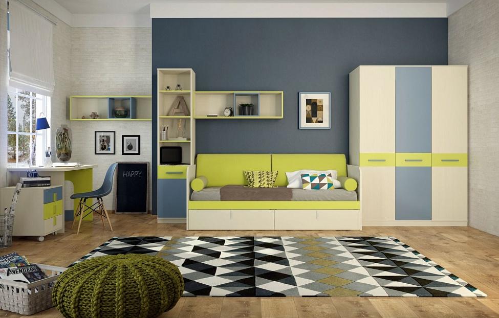 Купить Подростковая Кеноша 3 в интернет магазине корпусной и мягкой мебели для дома